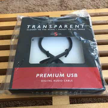 Transparent Audio Premium USB Cable 1M