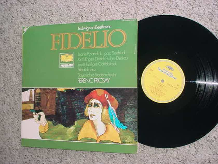 Ludwig Van Beethoven Fidello double lp record - Deutsche Grammophon privilege 2539 236 stereo West Germany SEE ADD
