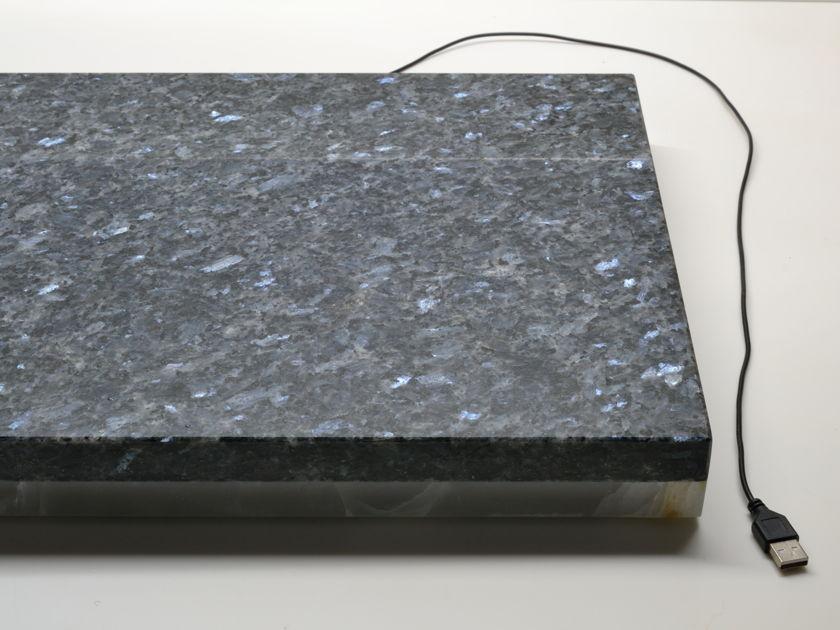 "Platform Blue Pearl 14.5""x18""x1.5"" Devices Stone Isolation Platform"