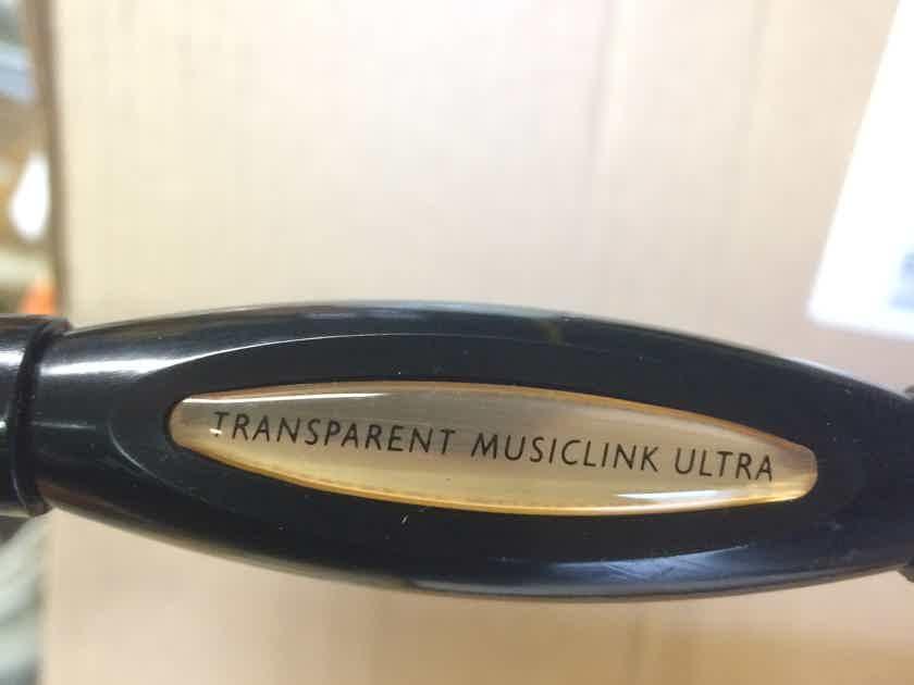 Transparent Ultra MM2 10ft  RCA pair - Price drop!