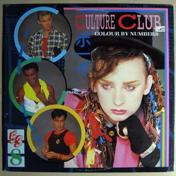Culture Club - Colour By Numbers - Promo Stamped - STER...