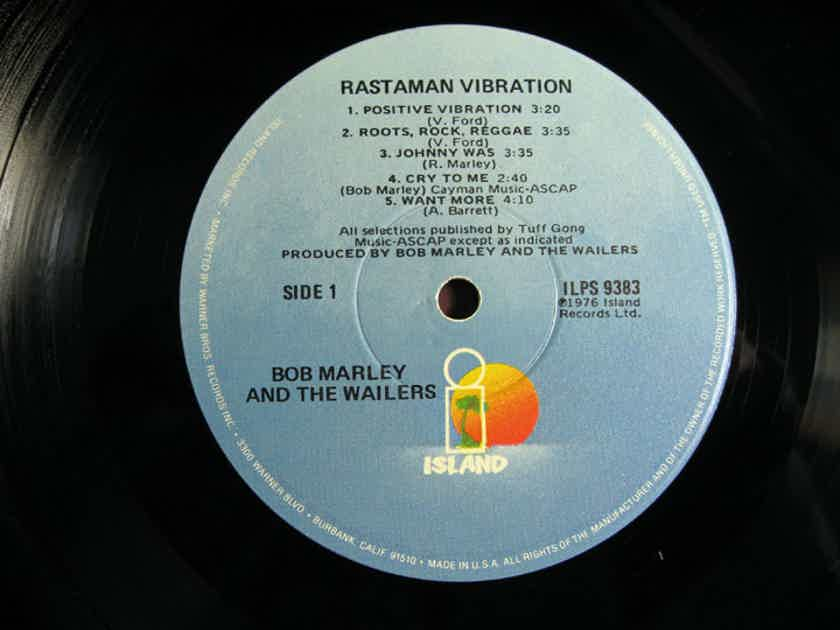 Bob Marley & The Wailers - Rastaman Vibration - 1979 Repress Island Records ILPS 9383