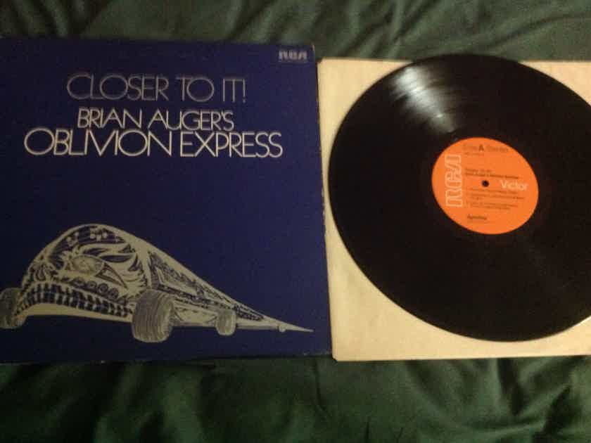 Brian Auger's Oblivion Express - Closer To It! RCA All Analog Dynaflex Vinyl LP NM