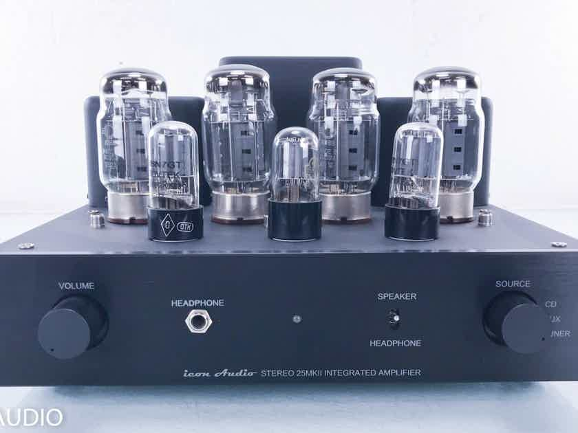 Icon Audio Stereo 25 MkII Stereo Tube Power Amplifier  (14974)