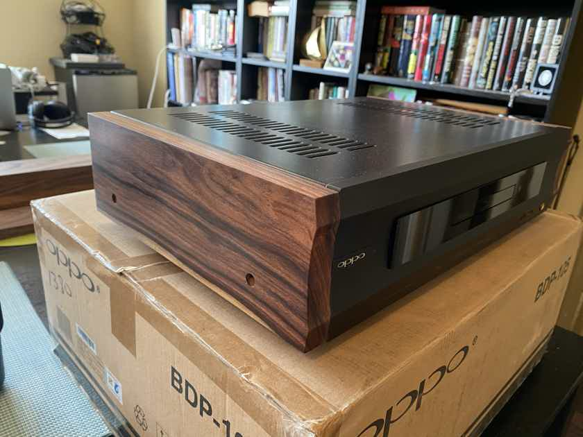 Z Audio Oppo BDP 105 UDP 205 Solid Rosewood Side Panels