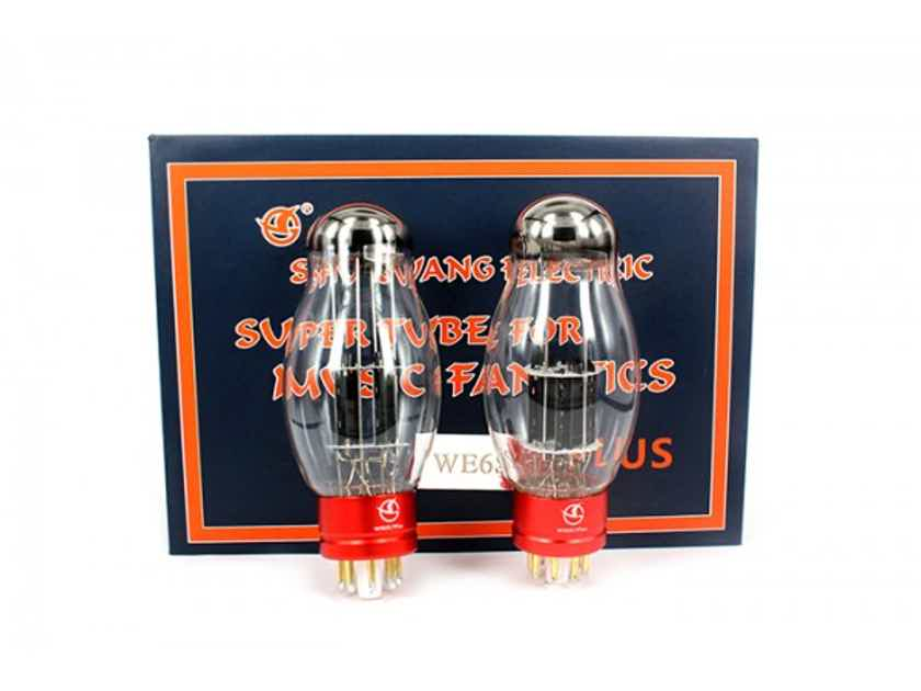 Shuguang WE6SN7 Plus Vacuum Tube Marched Pair All New
