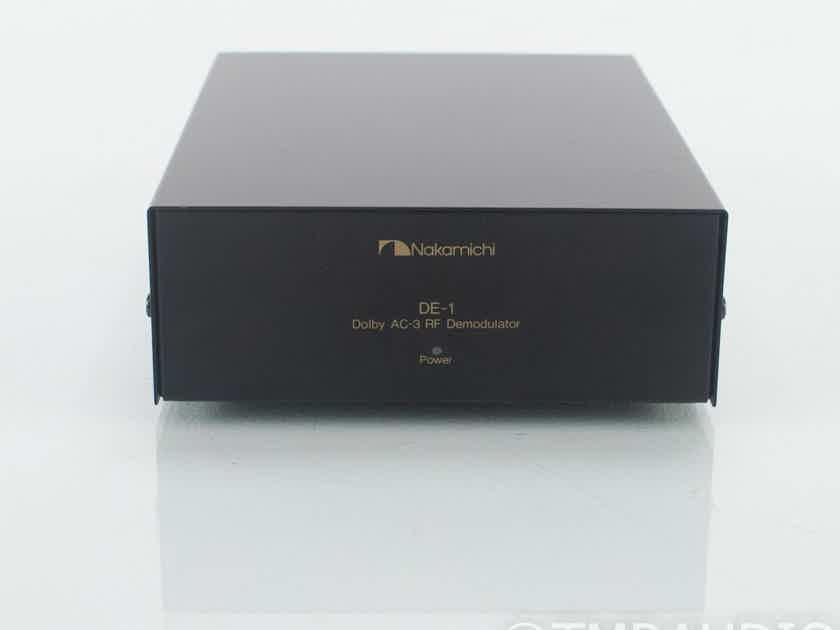 Nakamichi DE-1 Dolby AC-3 RF Demodulator; AC3 RF -> AC3 Digital Signal Converter (18690)