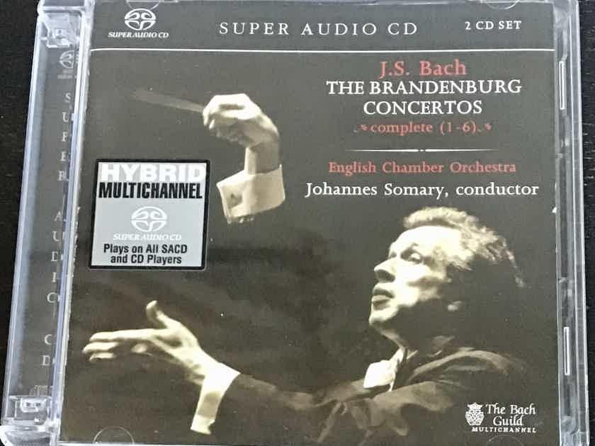 Johannes Somary + English Chamber Orchestra - Bach: The Brandenburg Concerto - Hybrid SACD (2discs)