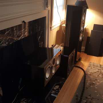 MONITOR AUDIO GOLD 300 - PIANO BLACK + HOME THEATER EQU...