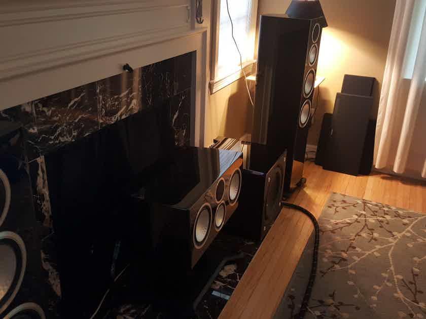 MONITOR AUDIO GOLD 300 - PIANO BLACK + HOME THEATER EQUIPMENT