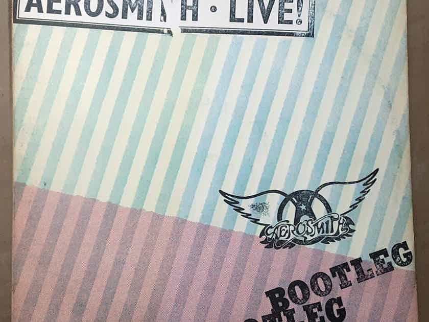 Aerosmith - Live! Bootleg EX- Double inyl LP Original 1978  Columbia PC2 35564