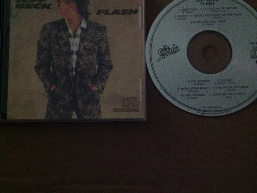 Jeff Beck - Flash Not Remastered CD Epic Records With Bonus Non LP Track