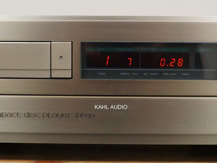 Accuphase DP-70  CD player. Lots of positive reviews! $5,000 MSRP.