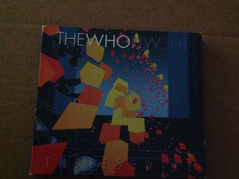 The Who - Endless Wire Universal Republic Records with CD With Bonus DVD