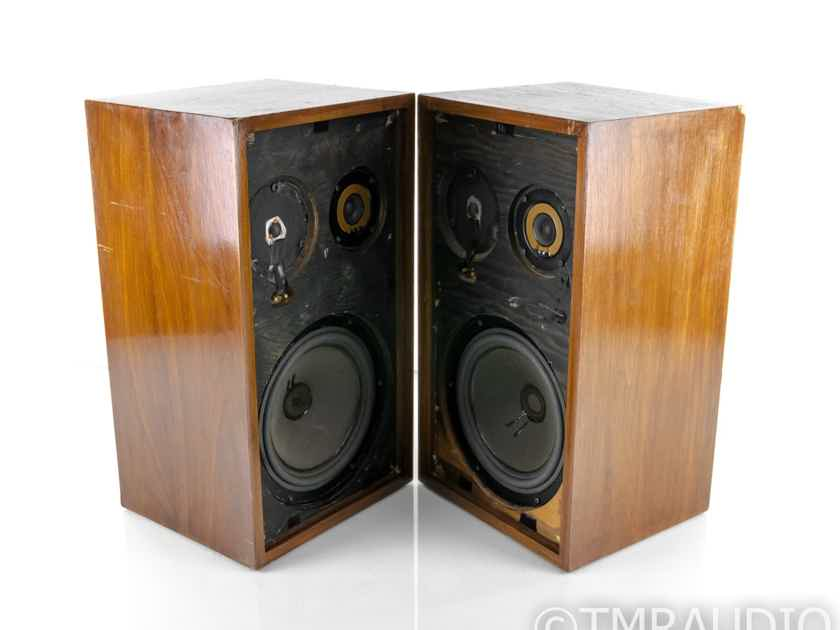 Acoustic Research AR-2AX Vintage Bookshelf Speakers; Walnut Pair (24614)