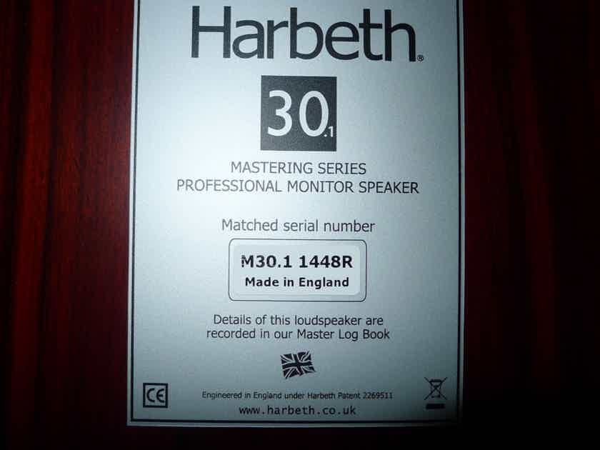 Harbeth Monitor 30.1 Rosewood, Mint