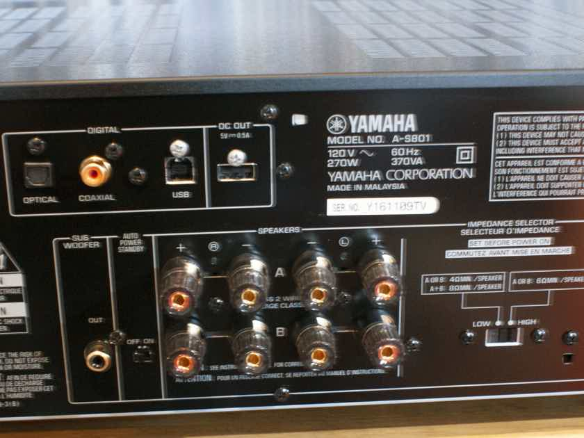 Yamaha A-S801  EXCELLENT COND