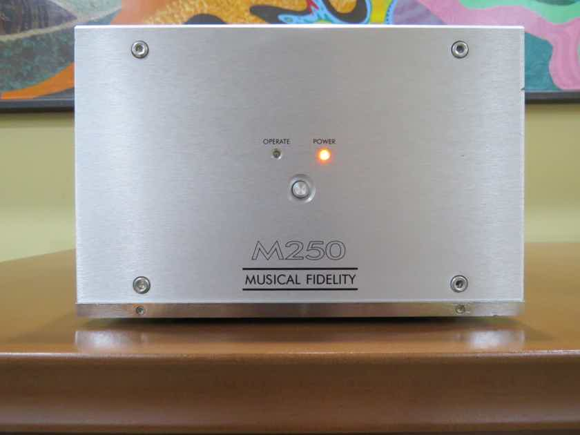 Musical Fidelity M-250 Single 250 watt monoblock amplifier. $1250 amp for $395.