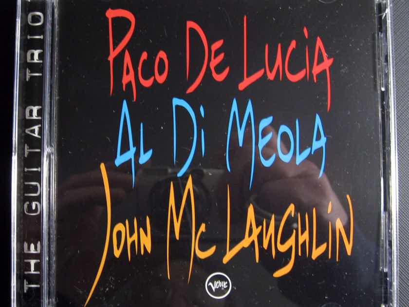 Paco De Lucía, Al Di Meola, John McLaughlin - The Guitar Trio - 1996 Verve Records 314 533 215-2