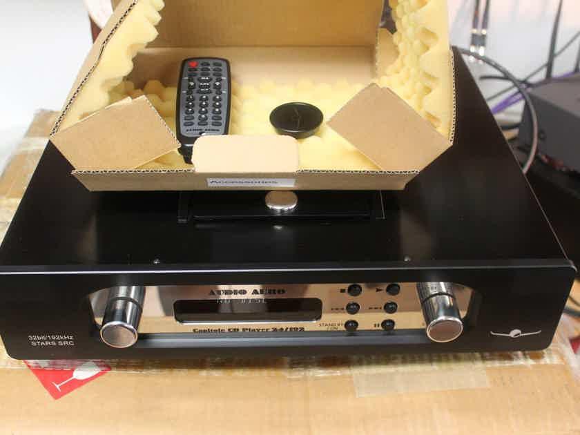 AUDIO AERO CAPITOLE 24/192 CD PLAYER (France) STARS SRC 32bit/192kHZ - Pristine