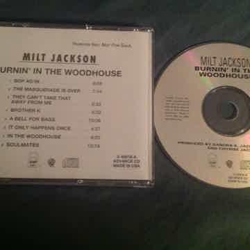 Milt Jackson  Burnin' In The Woodhouse QWest Warner Bro...