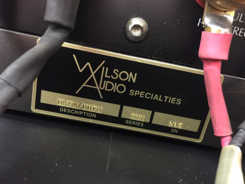Wilson Audio X-1 GRAND SLAMM v.3 Speakers - MASSIVE