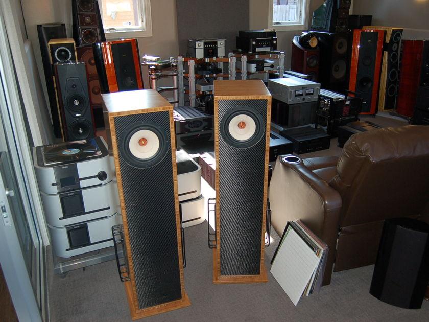 Vaughn Loudspeakers Barbera  Speakers - best sound for the money --