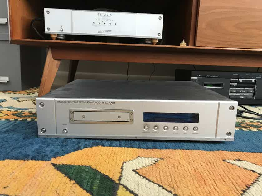 Musical Fidelity A-3.2 amp one owner