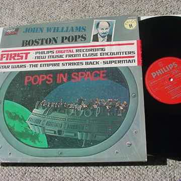 John Williams the boston pops lp record - pops in space...