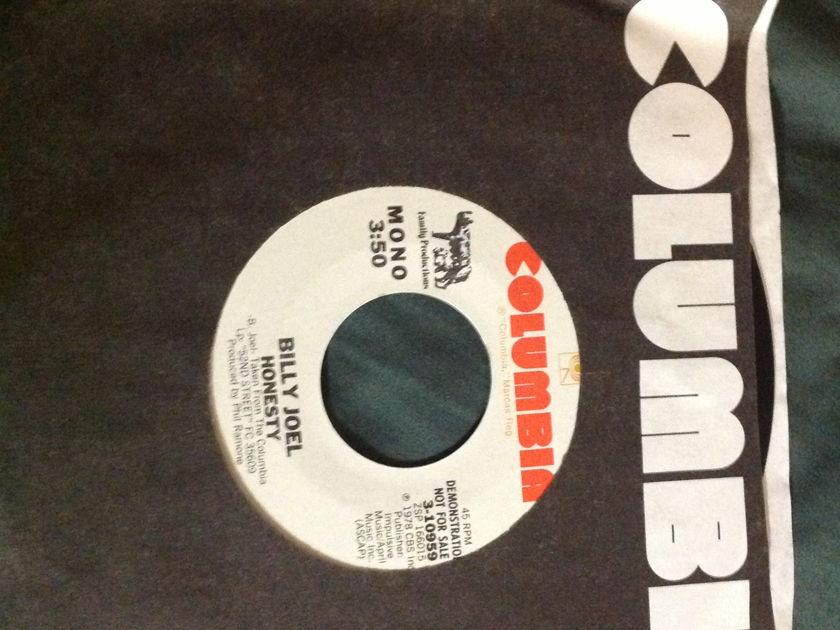 Billy Joel - Honesty Mono/Stereo Promo 45