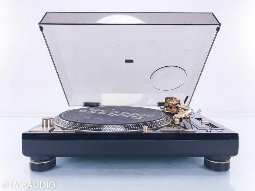 Technics SL-1200GLD Limited Edition Turntable Sumiko Pearl Cartridge (15167)
