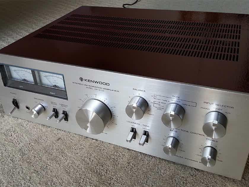 Vintage Art -- Restored Kenwood KA-6100 Integrated Amplifier
