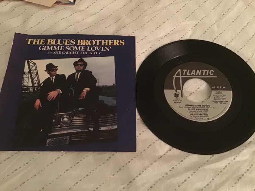 The Blues Brothers Gimme Some Lovin' Promo Mono/Stereo With PS