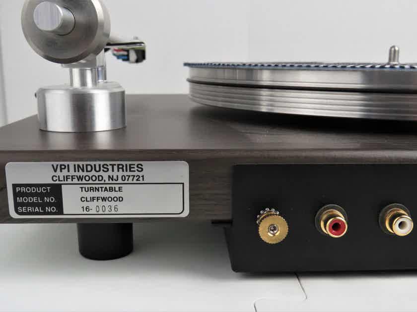 VPI  Cliffwood /Audio Technica AT-VM95E