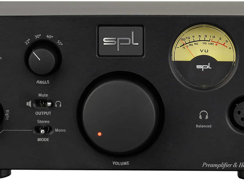 SPL Phonitor X with DAC HEADPHONE AMPLIFIER