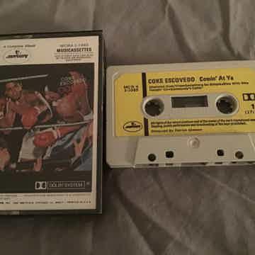 Coke Escovado Pre Recorded Cassette  Comin' At Ya