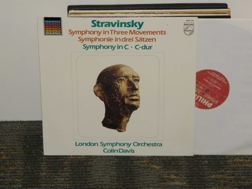 Colin Davis/London Symphony Orchestra - Stravinsky Symphony in Three Movements Philips Import Pressing 6527 127 Holland