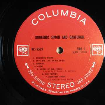 Simon & Garfunkel Bookends - Original STEREO LP 1968 Co...