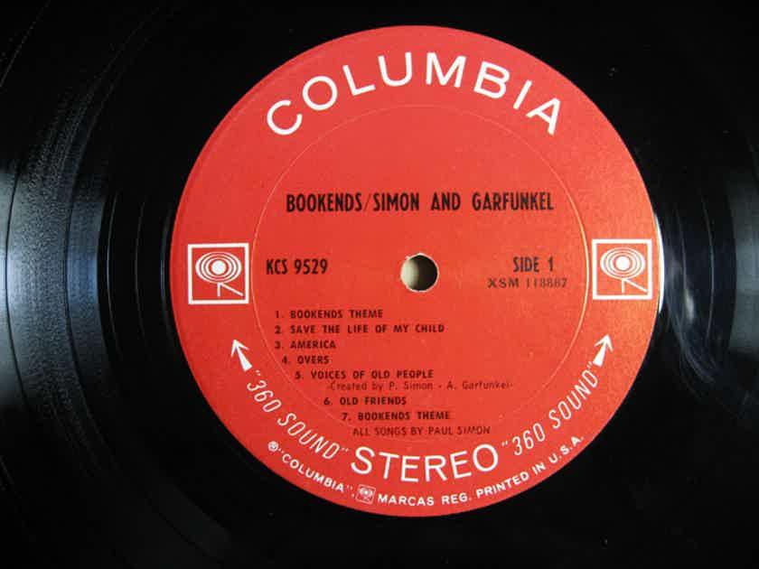 Simon & Garfunkel Bookends - Original STEREO LP 1968 Columbia KCS 9529