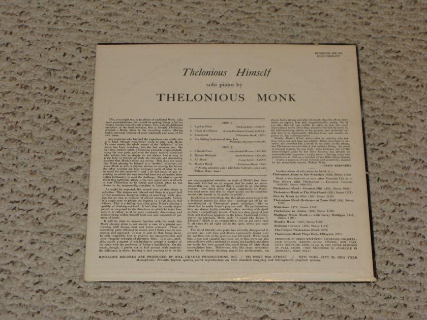Thelonious Monk - Himself  Original Riverside Mono!