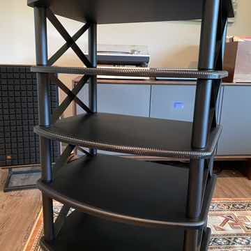Pangea Audio Vulcan  X Brace Audio Shelf - 5 shelves