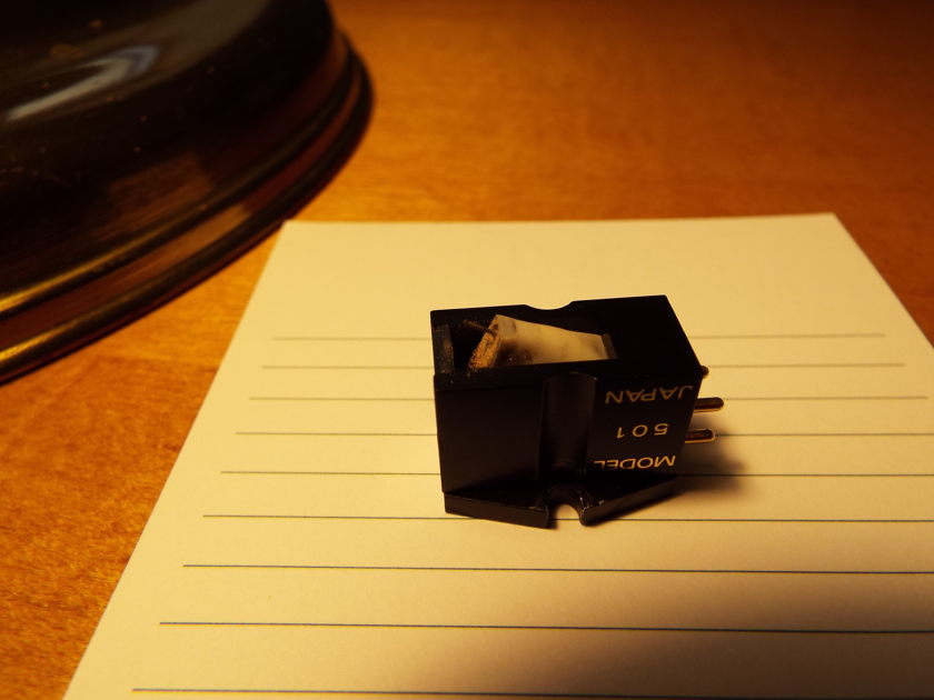 Shelter 501 mkII low output MC Cartridge