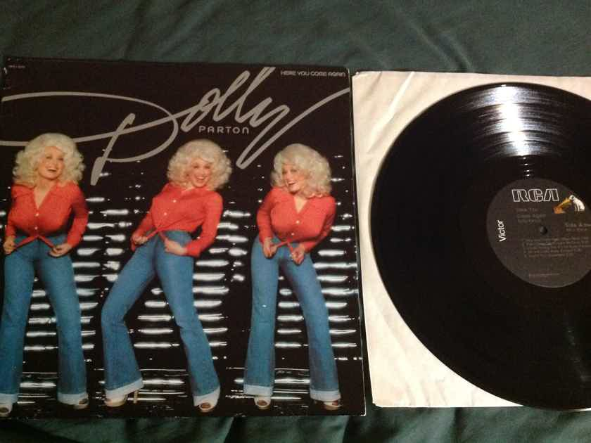 Dolly Parton  Here You Come Again Promo Stamp Back Cover