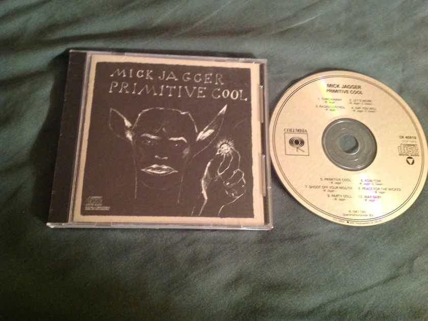 Mick Jagger  Primitive Cool Not Remastered Columbia Records