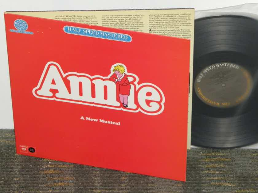 "OST - ""Annie"" The Original Broadway Cast recording  Columbia Half Speed Mastered (Full Version)"