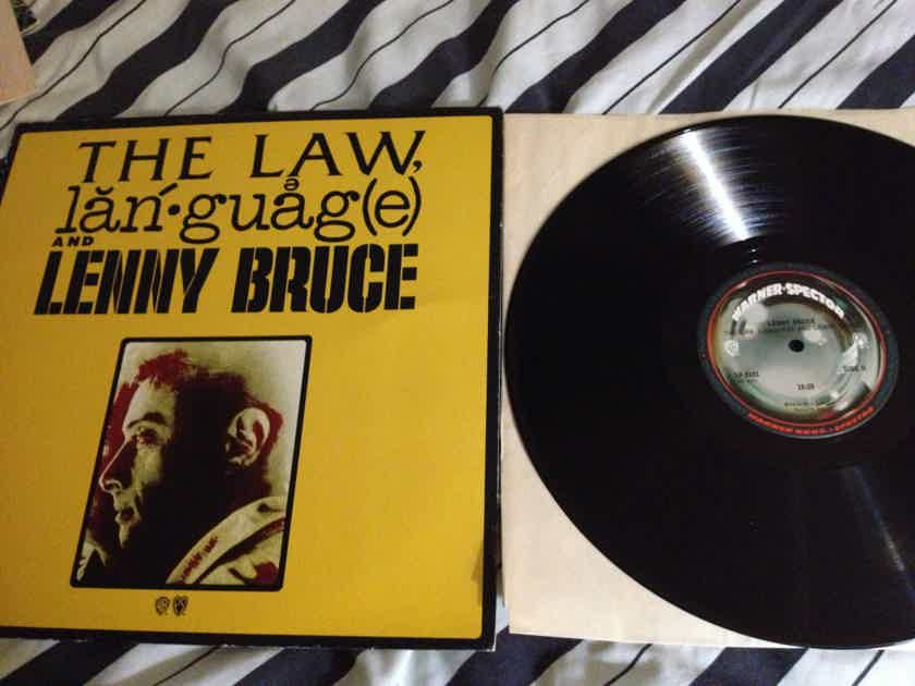 Lenny Bruce - Law,Language And Lenny Bruce Warner Spector Records Phil Spector Vinyl LP NM