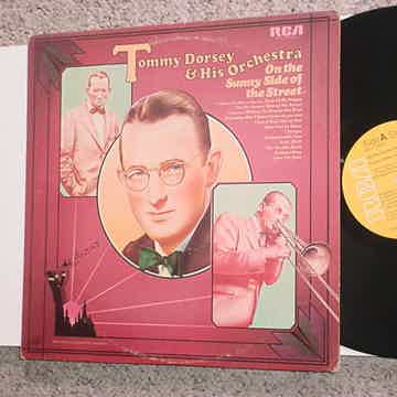Tommy Dorsey & his orchestra lp record on the sunny side of the street RCA 1977