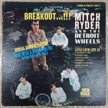 Mitch Ryder & The Detroit Wheels - Breakout LP Original...