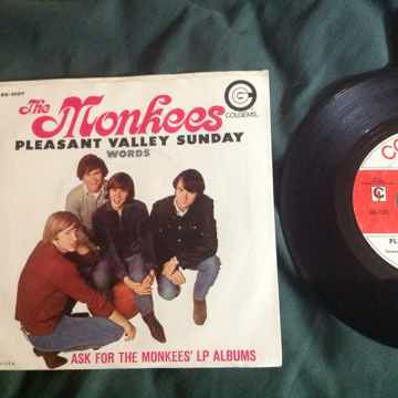 The Monkees - Pleasant Valley Sunday/Words Colgems Reco...