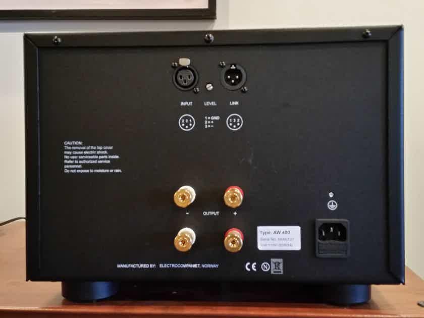 Electrocompaniet AW 400 Mono Block Amplifiers